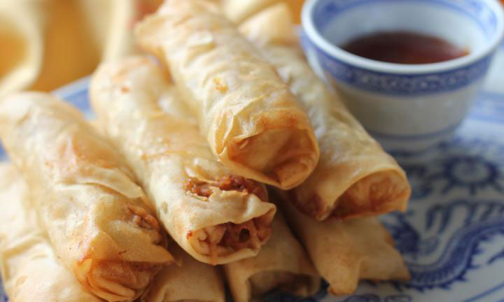 Easy and Healthy Spring Rolls