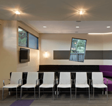 Waiting area for narre warren dental clinic
