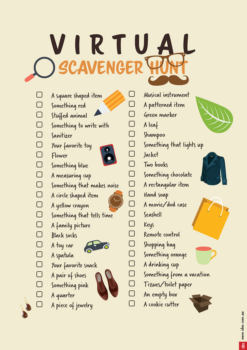 How to Host a Virtual Scavenger Hunt